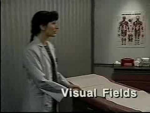 Vídeo Exame campo visual preço