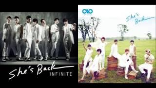 Video Infinite - She's Back (Split Headset Version) download MP3, 3GP, MP4, WEBM, AVI, FLV Mei 2018