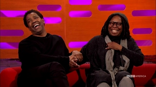 Denzel Washington's Caffeinated Fan Interruption | The Graham Norton Show