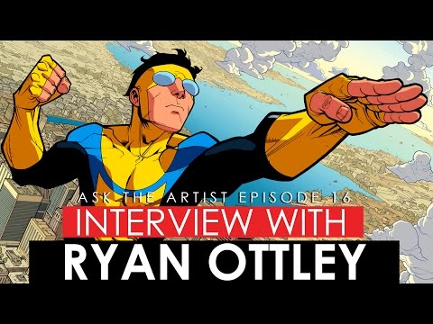 IS DOING WEB COMICS WORTH IT?  INTERVIEW WITH INVINCIBLE ARTIST RYAN OTTLEY
