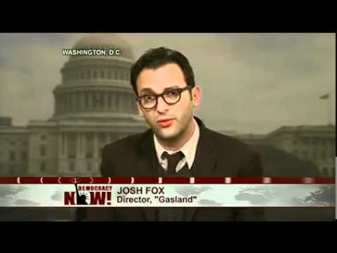 """Gasland"" Director Josh Fox Arrested at Congressional Hearing on Natural Gas Fracking"
