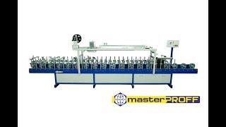 Лінія огорнення погонажних виробів ''masterPROFF WL-6000'' (лінія ламінації, верстат каширування)