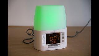 видео Светильник-будильник