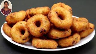 1 கப் அவல் இருந்தா மொறுமொறுனு வடை இதுபோல செஞ்சி பாருங்க | Snacks Recipes in Tamil