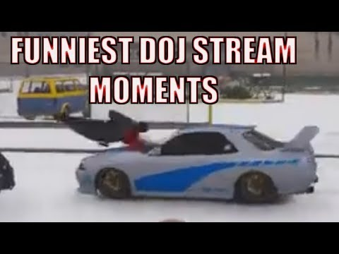 Funniest DOJ Role Play Stream Moments of 2017