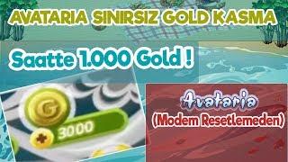 AVATARİA SINIRSIZ GOLD KASMA  - (Modem Resetlemeden) - (2018 - 2019)