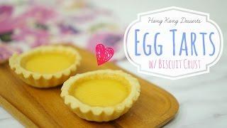 Hong Kong Egg Tarts [ & Giveaway Results!]⎜牛油皮蛋撻 [10k抽獎結果揭曉]