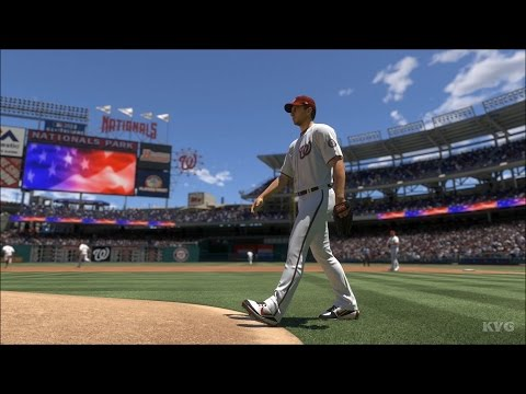 MLB The Show 17 - Oakland Athletics vs Washington Nationals | Gameplay (PS4 Pro HD) [1080p60FPS]