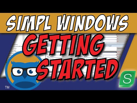 Crestron SIMPL Windows Programming Tutorial