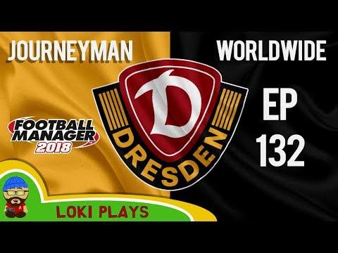 FM18 - Journeyman Worldwide - EP132 - Dynamo Dresden - Meeting the team - Football Manager 2018