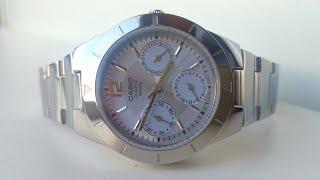 Женские часы Casio LTP-2069D-2A. Обзор\Review