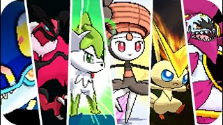 Pokémon X/Y & OR/AS : All Legendary Signature Moves (HQ)