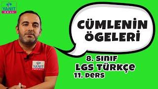 Cümlenin Ögeleri 1 | 2021 LGS Türkçe Konu Anlatımları #8trkc