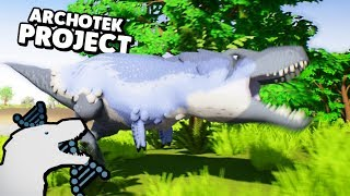 The Archotek Project - $20 ISLE DEMO? WORLDS CUTEST DINOS, NEW DINO GAME & REX FIGHT ( Gameplay )