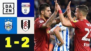 Trainer Jan Siewert nach der Partie entlassen: Huddersfield - Fulham 1:2 | Championship | DAZN