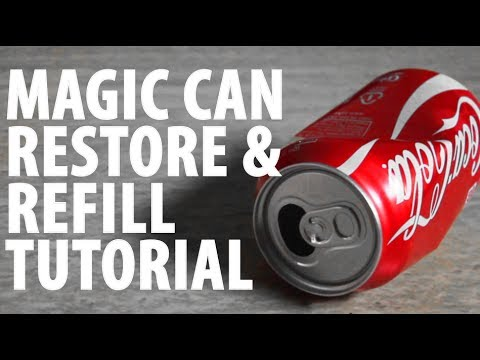 Magic Can Restore and Refill - TUTORIAL