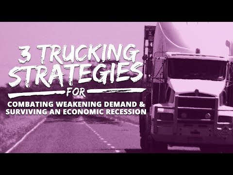 2019 Challenging Economic Conditions for Transporters