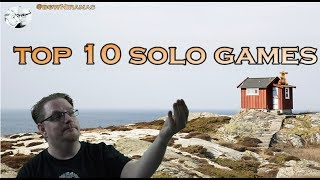 Top 10 Solo Games
