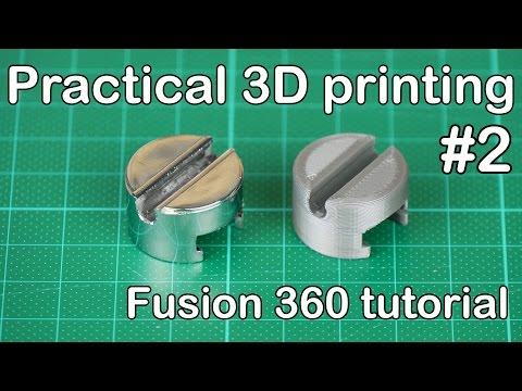 Practical 3D Printing - Vacuum Wall Mount Adapter