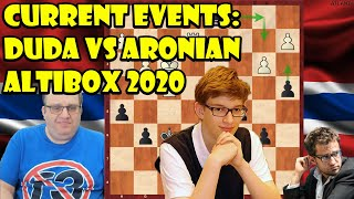 Current Events: Duda vs Aronian Altibox Norway Chess (2020)