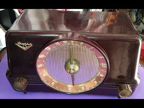 RADIO IBERIA mod. B26 AÑO 1956, RESTAURACIÓN