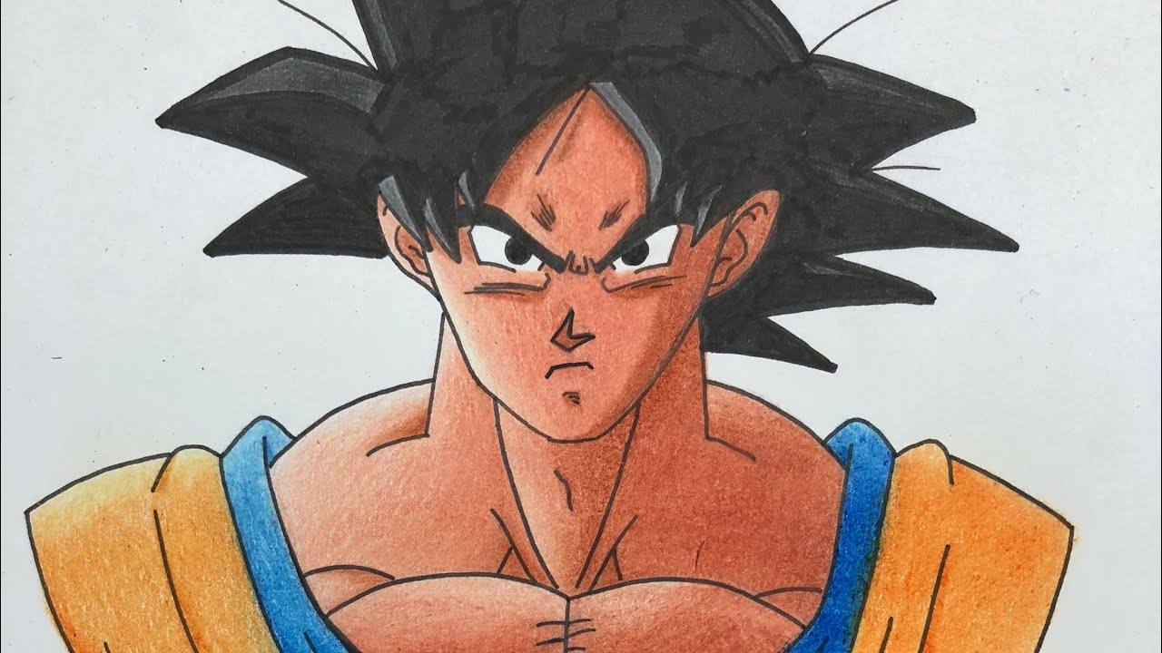 Drawing Goku Dragonballz Akira Toriyama Youtube