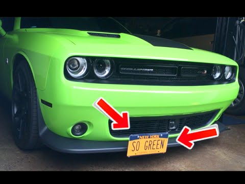 HOW TO INSTALL A STO-N-SHO REMOVABLE LICENSE PLATE ON 2015-16 DODGE ...