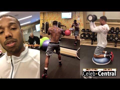 """Black Panther"" Star MICHAEL B. JORDAN'S Complete Workout"