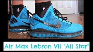 """Nike Air Max Lebron 7 VII """"All Stars"""" + On Feet HD (2010) """"Dallas, TX"""" NBA All-Star Game"""