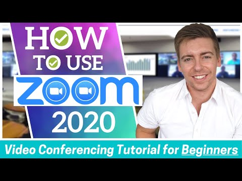 how-to-use-zoom-|-video-conferencing-tutorial-for-beginners