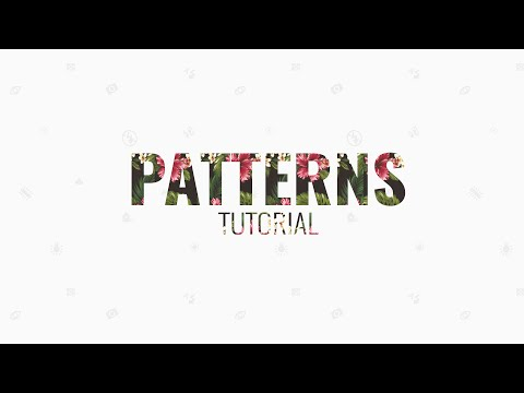How To Install Custom Patterns In Photoshop