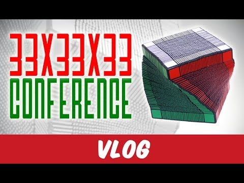 The 33x33x33: Full Conference at Dutch cube Day 2018