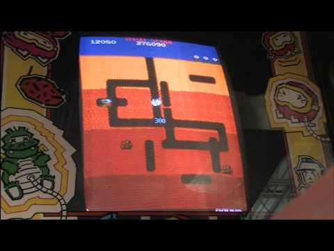 Classic Game Room - DIG DUG Arcade Machine Review