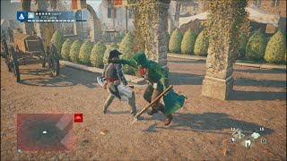 AC UNITY - Finishing moves with heavy weapons (SLOW MOTION)_( part 1)