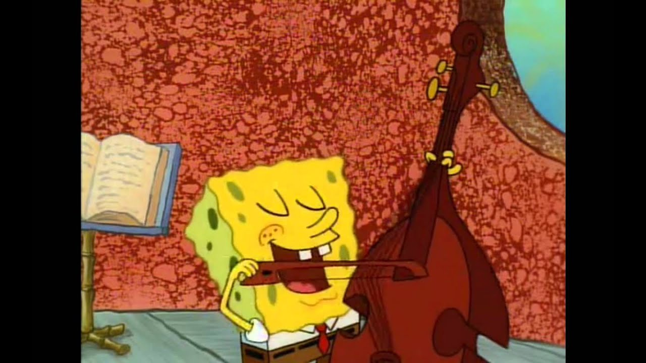 Spongebob Singing Squidward Is My Best Friend
