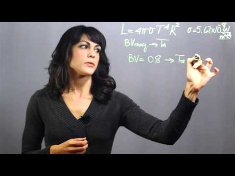How to Determine a Star's Radius : Astronomy & Astrophysics