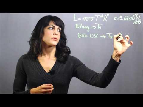 How to Determine a Star's Radius : Astronomy & Astrophysics