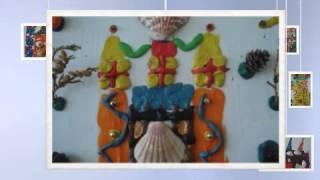 """Детское творчество """"Замок"""", урок Технология, Начальная школа №859, г. Москва"""