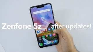 Asus Zenfone 5z After 2 Months New Features with Updates