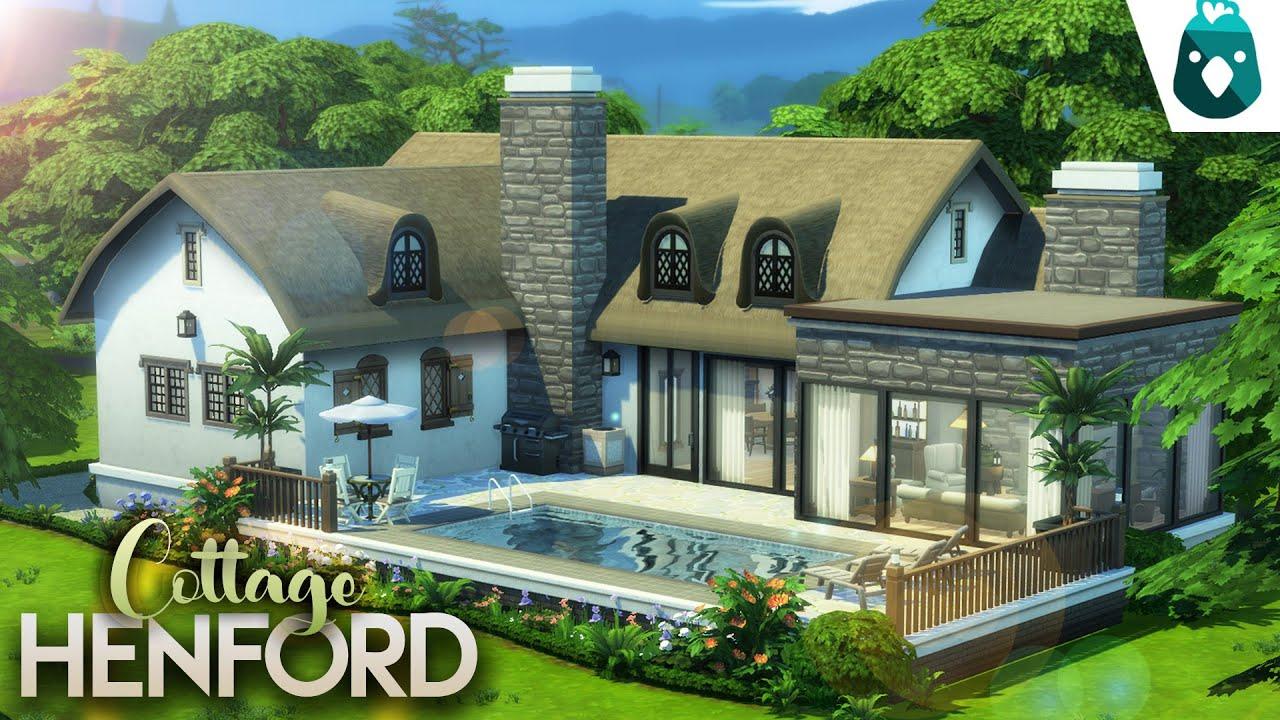 DREAM COUPLE HOME [NO CC] || The Sims 4: Dream Home Decorator Modern House Speed Build