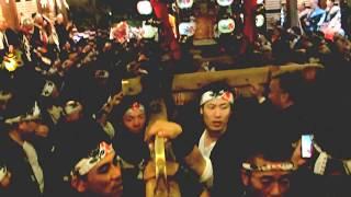 2017.10.08 御香宮神社 橘會 神輿 京都 (宮入)
