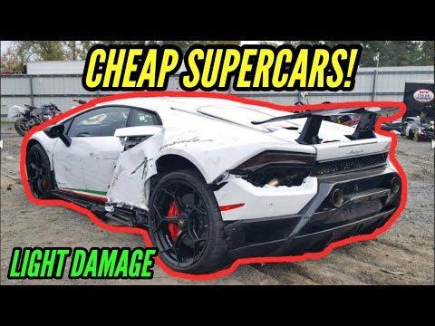 Wrecked Lamborghini Huracan rebuild Sells for Half Price!