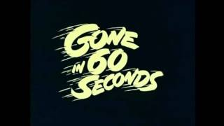 Скачать Gone In 60 Seconds Gone In 60 Seconds OST 1974 Restored Audio