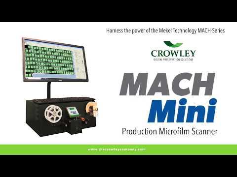 MACH Mini Production Microfilm Scanner