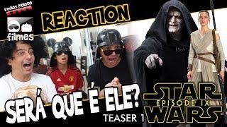 🎬 STAR WARS 9 - Reaction do Teaser 1 - Irmãos Piologo Filmes