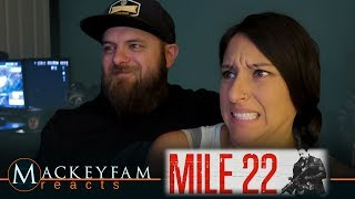 Mile 22 | Restricted Trailer 2- REACTION!!!