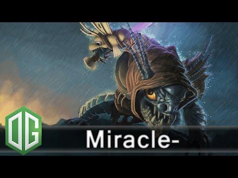 OG.Miracle- Slark Gameplay - Ranked Match - OG Dota 2