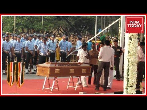 Exclusive : Funeral Of Jayalalithaa At Marina Beach