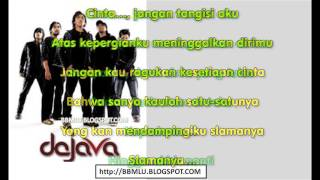 Da Java Cinta Jangan Tangisi Aku 2 LIRIK OFFICIAL LYRIC VIDEO LIRIKMUSIK10