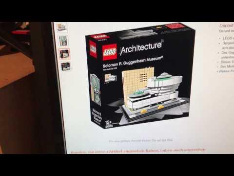 LEGO Architecture Solomon R. Guggenheim Museum (Set 21035)